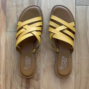 Franco Sarto Crisscross Sandal